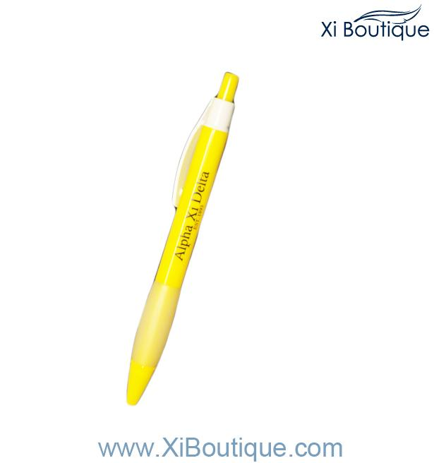 Xi Boutique Stationery   Yellow Pen